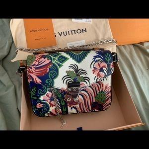 Louis Vuitton Pochette Métis Mini Floral Bag